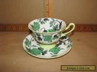 Vintage Antique Teacup / Saucer  Shelley Ovington 13216