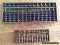 Japanese antique wood abacus