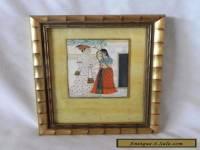 Vintage HINDU INDIAN FRAMED ART