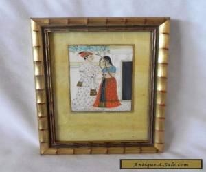 Vintage HINDU INDIAN FRAMED ART for Sale