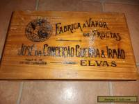 vintage sweet wooden box