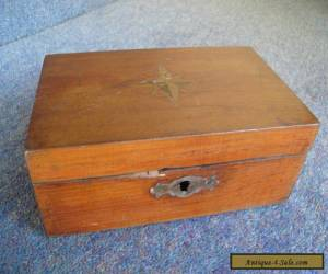 Vintage Wooden Box (moneybox) for Sale