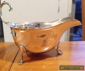 Sterling Silver Gravy Boat for Sale
