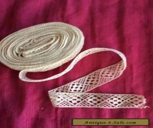 vintage cotton lace for Sale