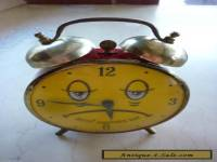 Very Cute, Nuts! Another Day Vintage USA Bedside Alarm Clock
