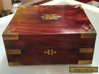 Antique Vintage Large Wooden Box