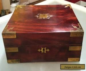 Antique Vintage Large Wooden Box for Sale