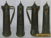 ANTIQUE COPPER JUG - ENGLAND JS & S - CIRCA 1910-1915