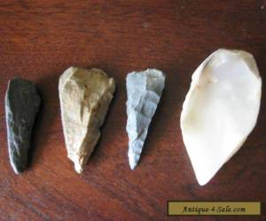 ABORIGINAL: FINE OLD NORTH WEST  STONE AND SHELL POINTS  for Sale