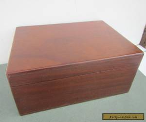 Vintage Mahogany Box for Sale