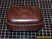 BAKELITE LIDDED SOAP HOLDER FOR TRAVELLING - BEX AUSTRALIA