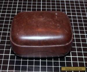 BAKELITE LIDDED SOAP HOLDER FOR TRAVELLING - BEX AUSTRALIA for Sale