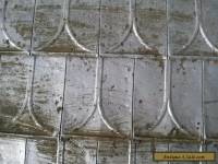 Old Tin Locking Roof Shingles