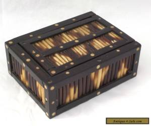 EDWARDIAN PORCUPINE QUILL BOX for Sale