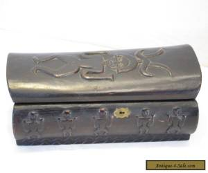 Vintage and antique Formosan Treasure Coffin valuables box. for Sale
