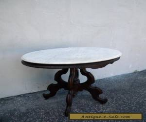 Victorian Marble-Top Side Table / End Table 5909 for Sale