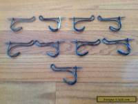 Antique twisted bent wire Coat hooks