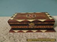 vintage ARVI GRANADA wood box made in Spain