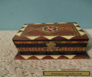 vintage ARVI GRANADA wood box made in Spain for Sale