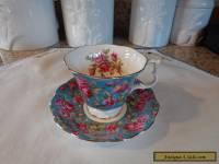 """Harewood"" Royal Albert Bone China Tea Cup and Saucer/Chintz"