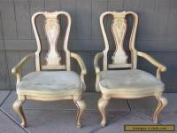 Pair of Georgian Style Tall Back Arm CHAIRS