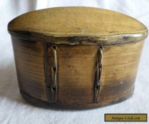 Antique bent wood pantry box for Sale