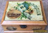 Vintage Mauchline Ware Box Harrogate Southport Chatsworth House for Sale