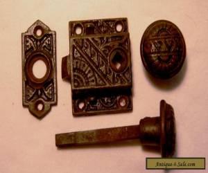 Eastlake Screen Door Lockset Complete Set for Sale