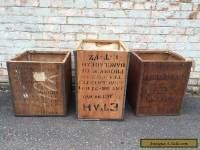 Vintage Industrial Tea Trunk Chest Storage Box Table Wooden Ceylon India