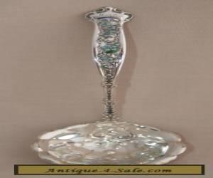 Antique Sterling Silver & Enamel Detailed Sauce Ladle for Sale