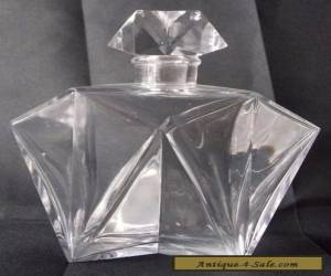 Antique Art Deco BACCARAT CRYSTAL Perfume Bottle  for Sale