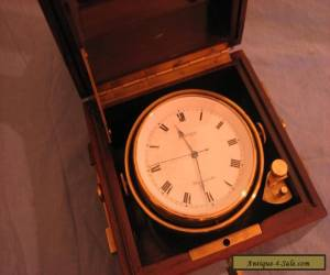 Marine Chronometer Fully Gimballed for Sale
