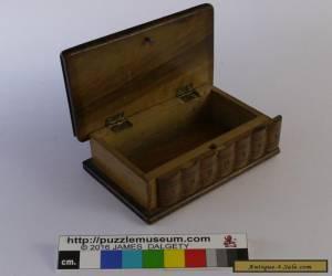 Small Victorian Sorrento puzzle box for Sale