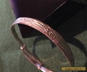 Leadies Bangle Silver 925 Stamp Vintage Perfect Condision for Sale