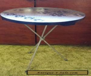 Vintage Mid Century Tripod Leg & Round Top Plant Stand Side End Table Metal Wood for Sale