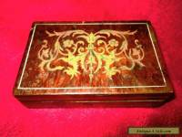 Antique marquetry box.