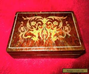 Antique marquetry box. for Sale