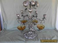 SILVER PLATED ANTIQUE TABLE CENTRE PIECE