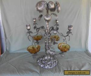 SILVER PLATED ANTIQUE TABLE CENTRE PIECE for Sale