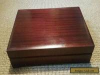 Attractive large old wooden box
