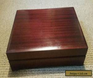 Attractive large old wooden box  for Sale