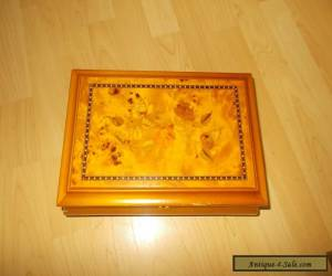 Wooden Jewellery Box for Sale