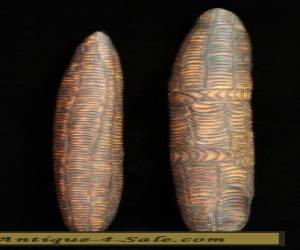 Pair of Aboriginal Singing Sticks Central Australia  for Sale