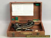 Estate Found 1942 WWII Cased US Navy-BU Ships Stadimeter Sextant Type