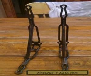 Antique metal shelf brackets for Sale