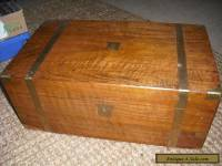 Antique Walnut writing box with secret drawers