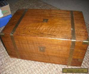 Antique Walnut writing box with secret drawers for Sale