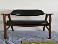 Paoli Chair Wood and Black Mid Century Vintage