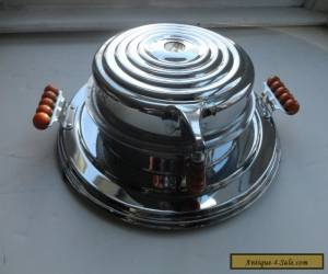 Art Deco Waffle Maker Mid Century Bakelite Streamline  for Sale